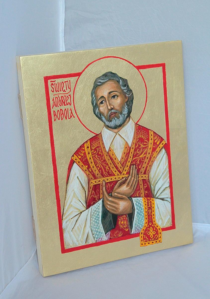 Ikona Świętego Andrzeja Boboli