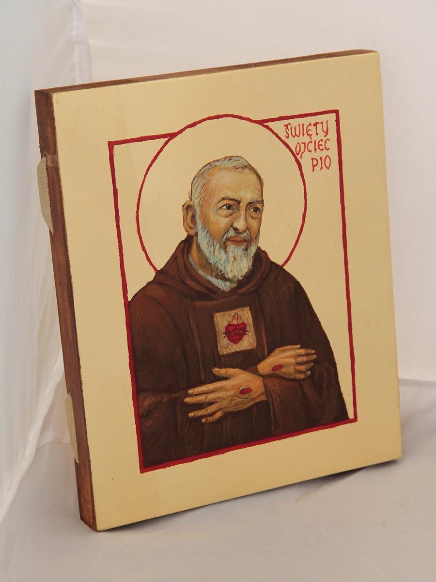 Ikona Świętego Ojca Pio