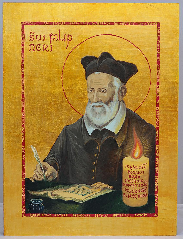 Ikona św Filip Nari