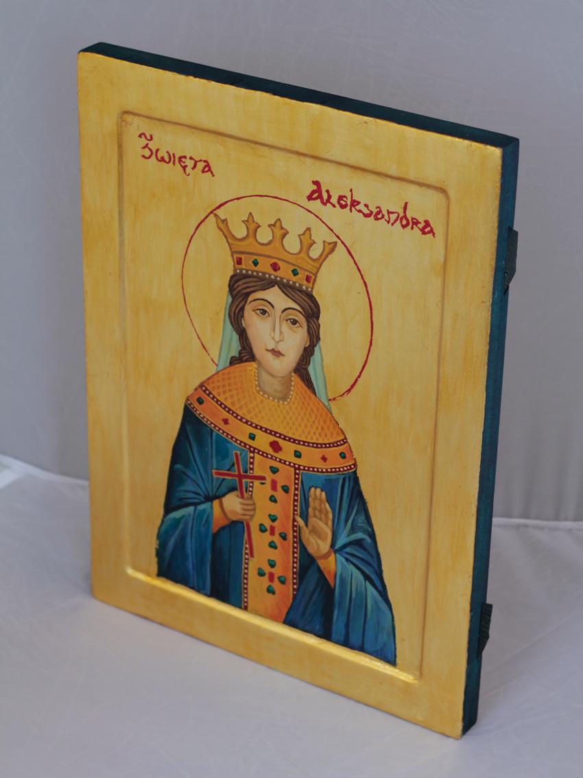 ikona św Aleksandry