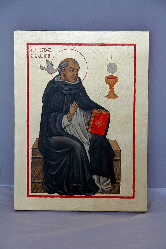 Ikona św Tomasza z Akwinu