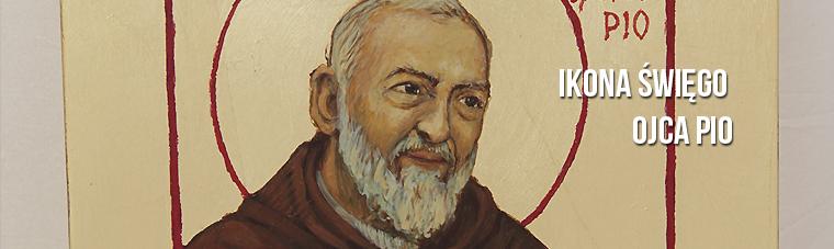 Ojciec Pio Ikona