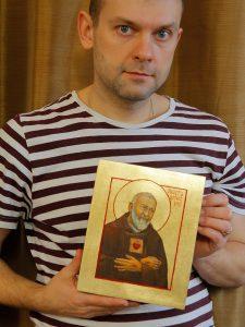 Ikona św. Ojca Pio