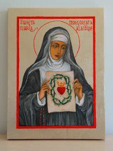 Ikona Św Małgorzaty Alacoque